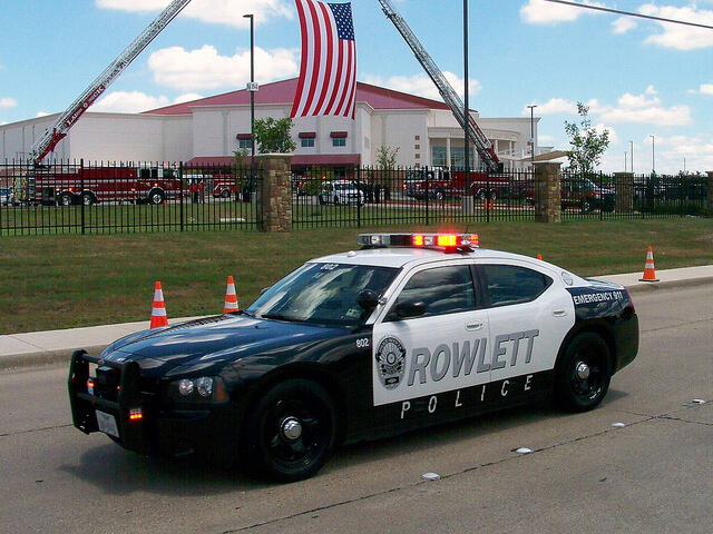 Rowlett Traffic Tickets Cop Car Client Incubator for 75088 and 75089