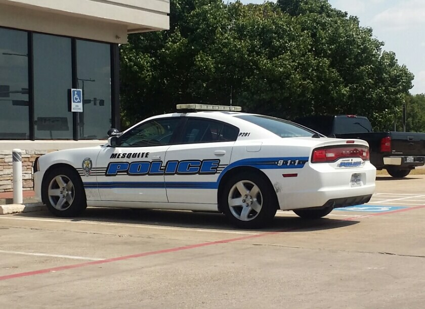 Mesquite Jail Release Cop Car Client Incubator for 75049 and 75050